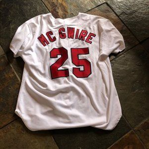 Other - STL Cardinals McGwire Jersey  Size 50